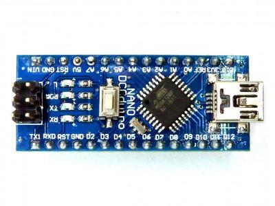 Arduino Nano V 3.0  - микроконтроллер Atmega328, usb-ttl CH340