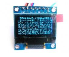 Модуль дисплей OLED 0,96 дюймов, SPI, I2С, 128x64 пикс. для Arduino