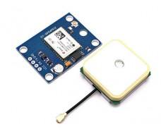 GPS-модуль NEO-6M (GY-NEO6MV2) с активной антенной, UART, Arduino