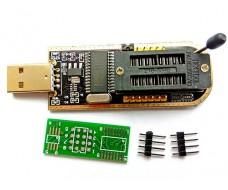 USB - программатор CH341A, поддерживает 24 Eeprom и 25 SPI Flash