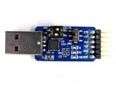 Адаптер USB to TTL (485 232) на CP2102