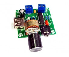 Усилитель 2 X 5W, 2-6V CM2038A