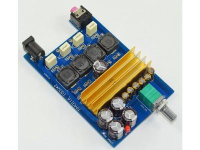 Усилитель D класса, на 2 x TPA3116D2 2.0 100W + 100W