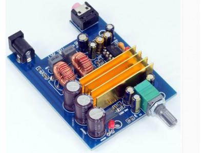 Усилитель D класса, УНЧ на TPA3116D2 1 канал 100W, для сабвуфера