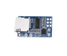 Звуковой mp3 модуль, выход моно 2W, воспроизведение с TF Card