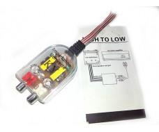 Преобразователь аудио сигнала KY K-28 RCA-адаптер высокого уровня 2 канала