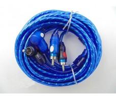 Межблочный аудио кабель RCA (тюльпан), 5 метров