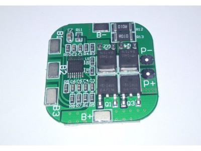Контроллер заряда разряда 4-х Li-Ion 18650 14.8V 10A