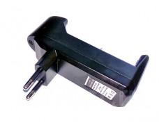 Сетевое зарядное устройство для одного аккумулятора Li-ion 18650 14500