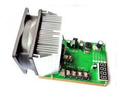 Тестер емкости ак. бат., электронная нагрузка до 60В 20A 200W