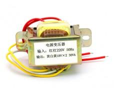 Трансформатор со средней точкой 2 x 18В 30VA