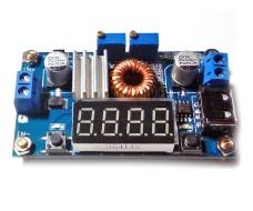 Понижающий преобразователь DC-DC на XL4015E 1,25 - 35V 5A 75W LED