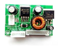 Понижающий преобразователь на монитор из 9-28v делает 5В 3,3В