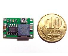 Миниатюрный понижающий преобразователь DC-DC MP2307 4,75V - 23V 1,8A