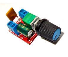 ШИМ (PWM) регулятор мощности или оборотов, DC 3 - 35 В до 90 Ватт(Пик)