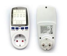 Розетка ваттметр до 3,5 кВт (мощность, ток, напряжение)