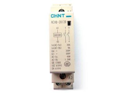 Модульный контактор Chint NCH8-20/20 20А