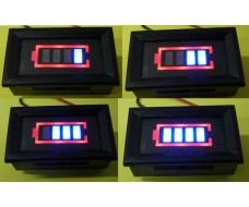 Уровень заряда батареи 12 В (вольтметр). Индикатор АКБ