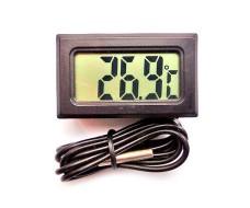 Цифровой термометр, -50... 75 °C, с выносным датчиком
