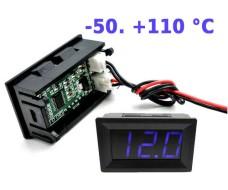 Встраиваемый электронный термометр с LED дисплеем, -50. +110 °C