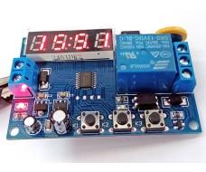 Программируемый релейный модуль с часами реального времени.