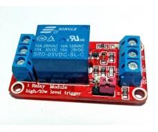 Релейный модуль 5 В, управление плюсом или минусом