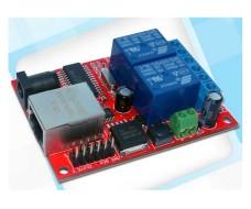 Модуль дистанционного управления 2 реле по сети Ethernet TCPUDP SR-201