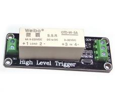 Твердотельное реле DC 5 - 220В 5А, 1 канал Arduino 5В