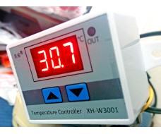 Цифровой программируемый терморегулятор в корпусе -50 +110С 220В