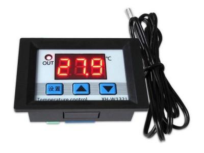 Цифровой встраеваемый терморегулятор, 3 кнопки, -50 +110С, 12В
