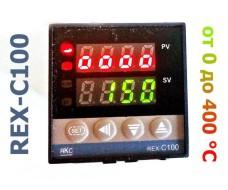 Цифровой программируемый терморегулятор REX C-100 relay, 0. +400С K