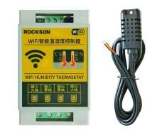 Wi-Fi терморегулятор - гигрометр программируемый на дин рейку -40... +80 °C