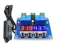 Терморегулятор - гигрометр программируемый с led индикацией -40... +120