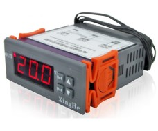 Цифровой встраеваемый программируемый терморегулятор -50 +110С 220В