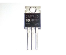 N канальный Mosfet транзистор IRF740 400В 10А