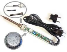 Паяльник с регулировкой температуры 200 - 400 С, 220V мощность 60W.